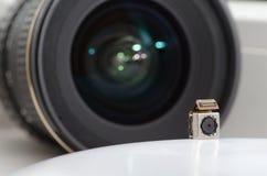 Dos lentes imagen de archivo