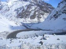 DOS les Andes de Cordilheiras Images libres de droits