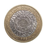 Dos libras de moneda Fotografía de archivo libre de regalías