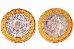Dos libras de monedas