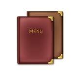 Dos libros del menú ilustración del vector