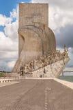 DOS lisbon för området för belem descobrimentosupptäckter lokaliserade monumentpadraoen portugal till Royaltyfria Bilder