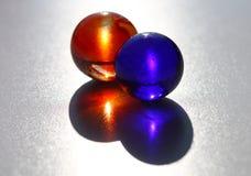 Dos mármoles Foto de archivo