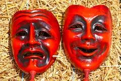 Dos máscaras imagenes de archivo