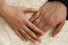 Dos manos Imagenes de archivo