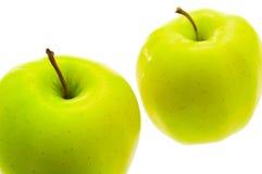 Dos manzanas. Foto de archivo