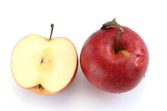 Dos manzanas foto de archivo
