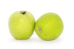 Dos manzanas Foto de archivo libre de regalías