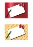 Dos marcos 2 de la Navidad Foto de archivo libre de regalías