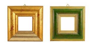 Dos marcos de la vendimia Fotografía de archivo libre de regalías