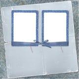 Dos marcos para la foto con el arqueamiento y la cinta