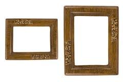 Dos marcos retros de la foto Fotografía de archivo libre de regalías