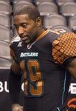 Dos Marquis Floyd de défensive d'AFL Arizona Rattlers Photographie stock libre de droits
