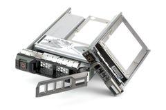 Dos mecanismos impulsores duros de diverso Hot-Swap Imagen de archivo