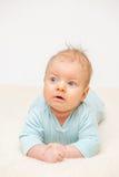 Dos meses del bebé Fotos de archivo