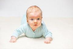 Dos meses del bebé Fotografía de archivo