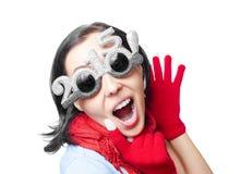 Dos mil décimo quintas gafas de sol del Año Nuevo Fotos de archivo libres de regalías