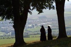 Dos monjas Fotografía de archivo