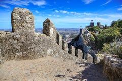 DOS Mouros de Castelo Fotos de archivo
