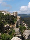 DOS Mouros di Castelo - di Sintra Fotografia Stock Libera da Diritti
