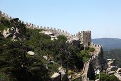DOS Mouros, Sintra di Castelo Immagine Stock Libera da Diritti
