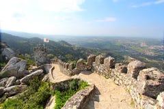 Dos Mouros, Sintra van Castelo Stock Foto's