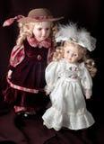Dos muñecas Imagen de archivo libre de regalías