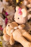 Dos muñecas del oso Foto de archivo