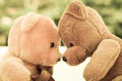 Dos muñecas del oso Fotografía de archivo