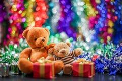 Dos muñecas del oso Imágenes de archivo libres de regalías