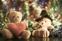 Dos muñecas del oso Imagen de archivo