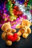 Dos muñecas del oso Fotos de archivo libres de regalías