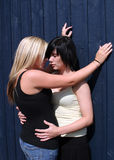 Dos muchachas Fotos de archivo