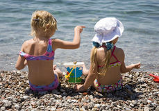 Dos muchachas 2 Imagenes de archivo