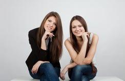 Dos muchachas Imagen de archivo