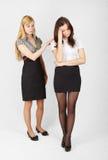 Dos muchachas Fotografía de archivo