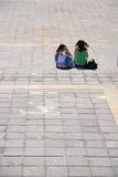 Dos muchachas Imagen de archivo libre de regalías