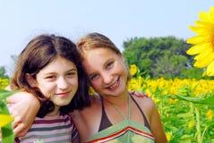 Dos muchachas Fotografía de archivo libre de regalías