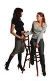Dos muchachas. Foto de archivo libre de regalías