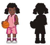 Dos muchachas afro Fotografía de archivo libre de regalías