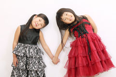 Dos muchachas asiáticas Imagen de archivo