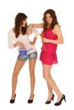 Dos muchachas atractivas Imagen de archivo