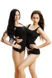 Dos muchachas atractivas Fotografía de archivo