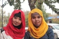 Dos muchachas del uzbek Fotografía de archivo libre de regalías