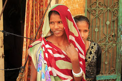 Dos muchachas indias Fotografía de archivo