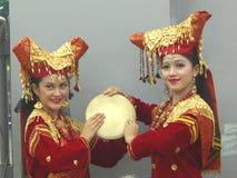 Dos muchachas indonesias fotografía de archivo libre de regalías