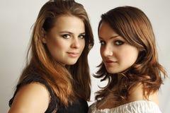 Dos muchachas lesbianas Fotos de archivo