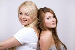 Dos mujeres imagen de archivo libre de regalías