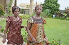 Dos mujeres africanas Imágenes de archivo libres de regalías
