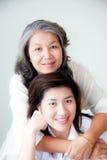 Dos mujeres asiáticas Foto de archivo libre de regalías